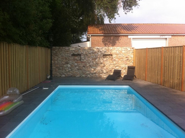 Specials diensten aannemersbedrijf hans goesten - Muur zwembad ...